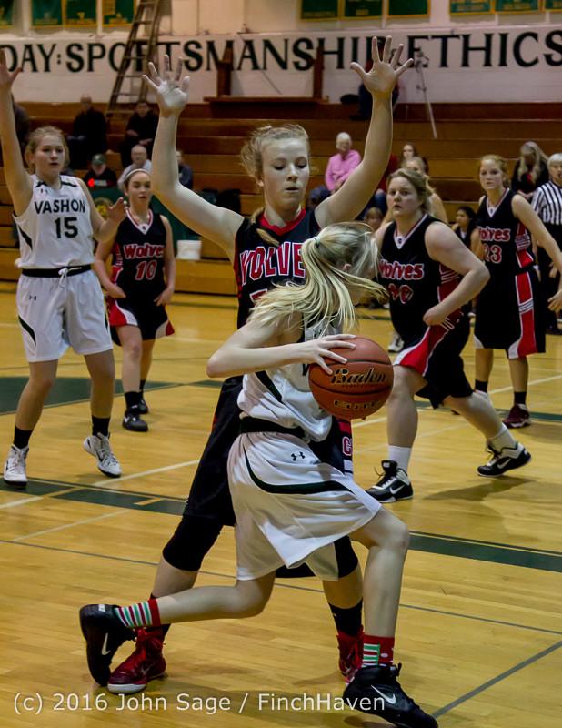 4565 Girls JV Basketball v Coupeville 122215
