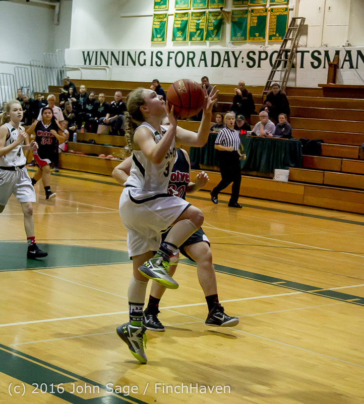 4591 Girls JV Basketball v Coupeville 122215