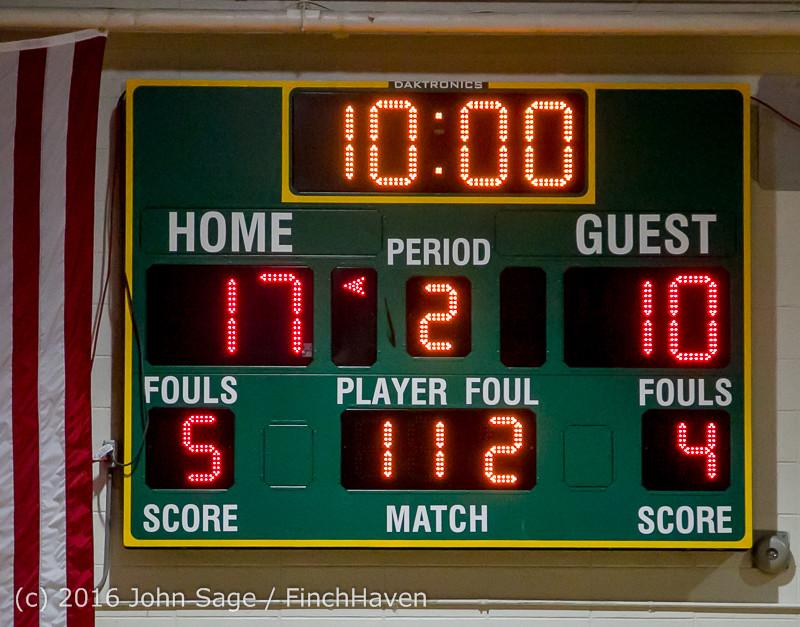 4619 Girls JV Basketball v Coupeville 122215