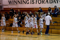 4631 Girls JV Basketball v Coupeville 122215