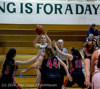 4640 Girls JV Basketball v Coupeville 122215