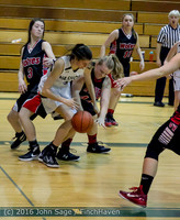 4641 Girls JV Basketball v Coupeville 122215