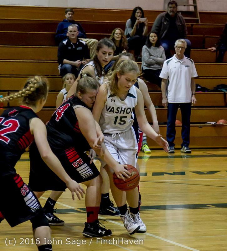4733 Girls JV Basketball v Coupeville 122215