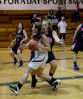 4756 Girls JV Basketball v Coupeville 122215