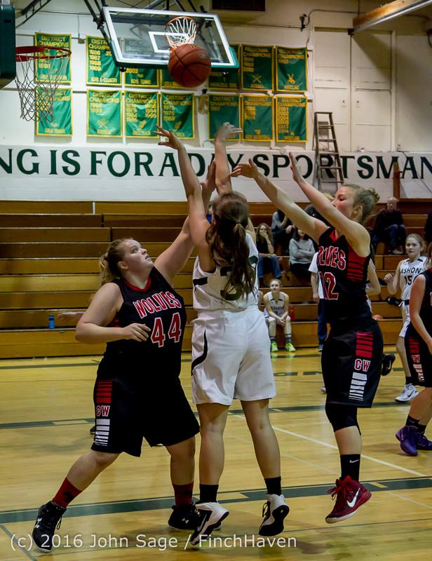 4763 Girls JV Basketball v Coupeville 122215