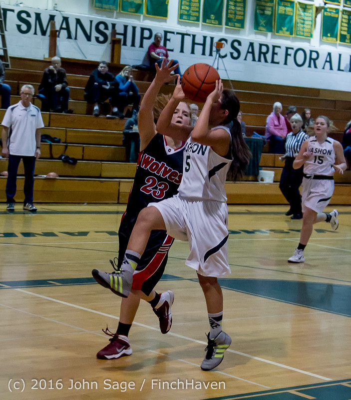 4816 Girls JV Basketball v Coupeville 122215