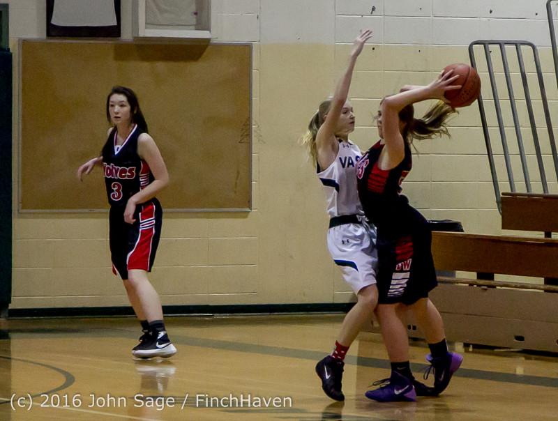 4916 Girls JV Basketball v Coupeville 122215