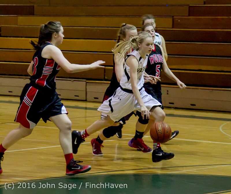 4927 Girls JV Basketball v Coupeville 122215