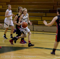 4929 Girls JV Basketball v Coupeville 122215
