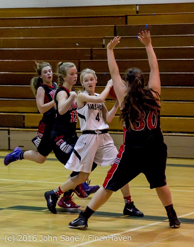 4931 Girls JV Basketball v Coupeville 122215