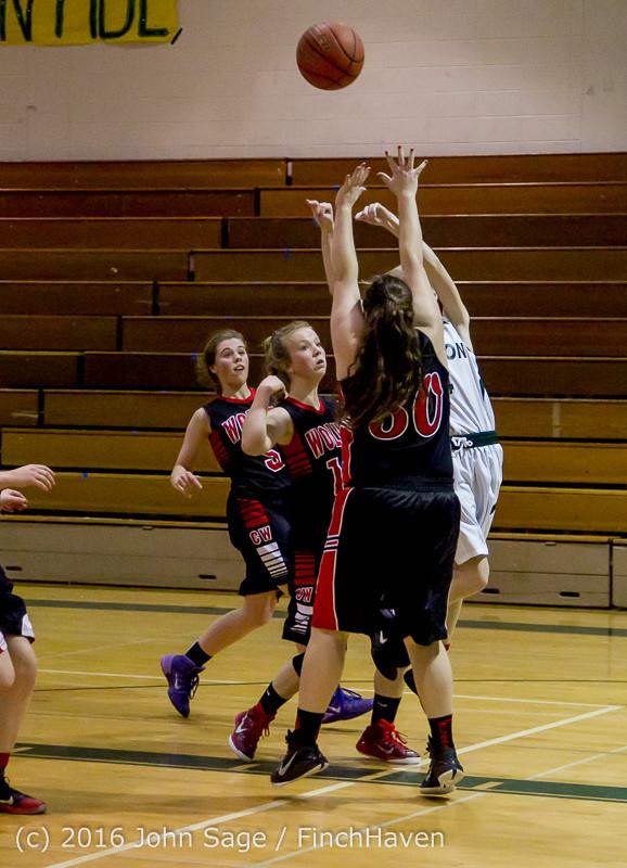 4933 Girls JV Basketball v Coupeville 122215