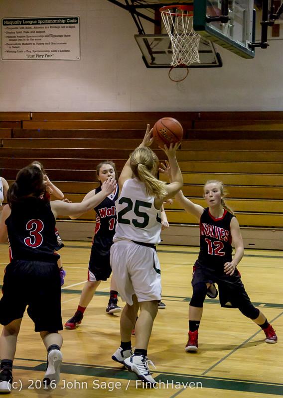 4943 Girls JV Basketball v Coupeville 122215