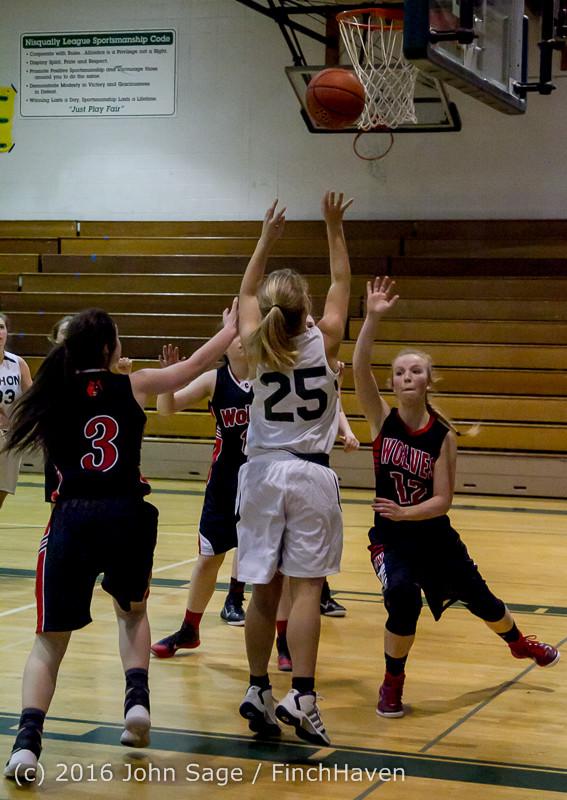 4944 Girls JV Basketball v Coupeville 122215