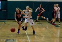5011 Girls JV Basketball v Coupeville 122215