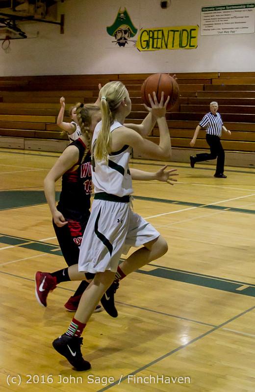 5014 Girls JV Basketball v Coupeville 122215