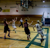 5020 Girls JV Basketball v Coupeville 122215