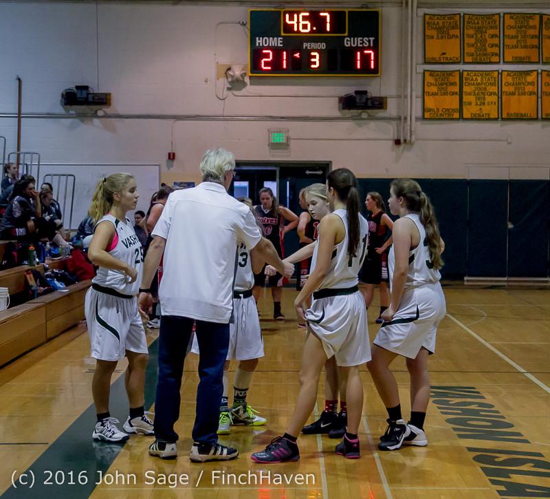 5040 Girls JV Basketball v Coupeville 122215