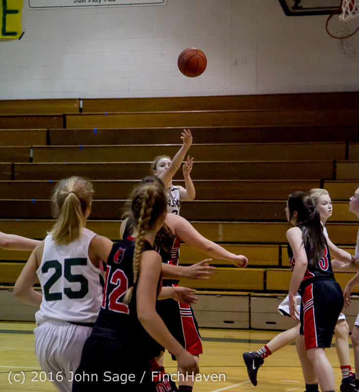 5046 Girls JV Basketball v Coupeville 122215