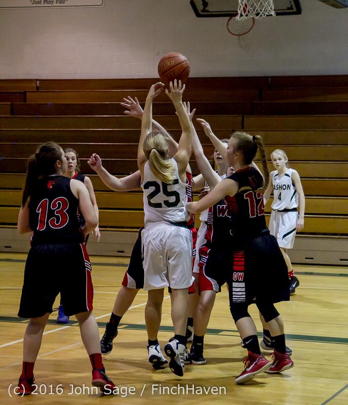 5060 Girls JV Basketball v Coupeville 122215