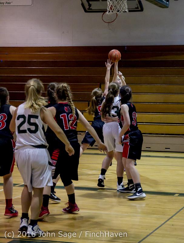 5066 Girls JV Basketball v Coupeville 122215