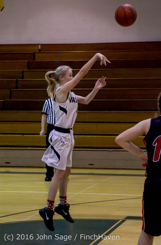 5074 Girls JV Basketball v Coupeville 122215