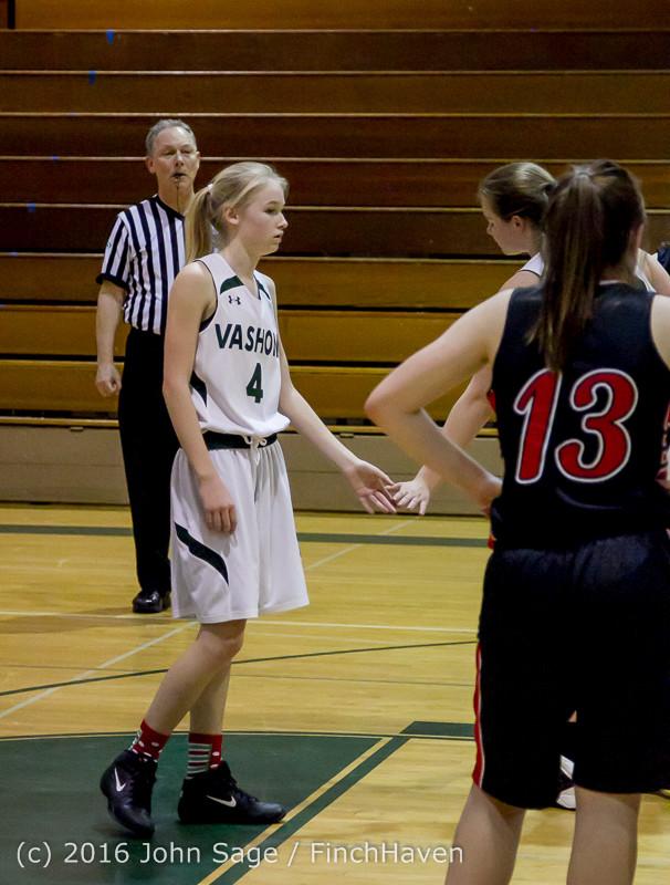 5080 Girls JV Basketball v Coupeville 122215