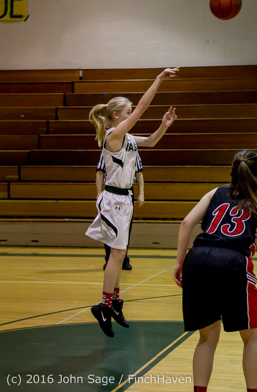 5087 Girls JV Basketball v Coupeville 122215