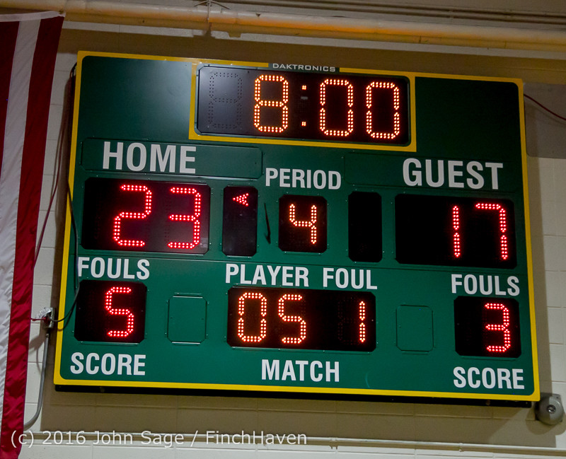 5092 Girls JV Basketball v Coupeville 122215