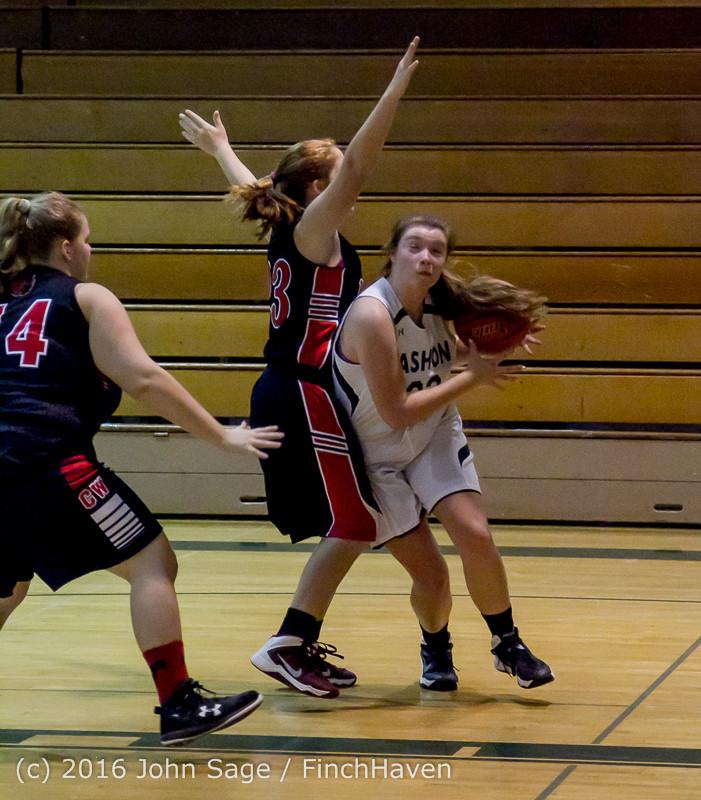5114 Girls JV Basketball v Coupeville 122215