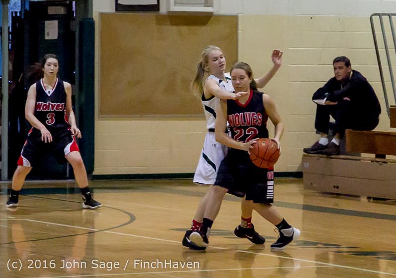 5131 Girls JV Basketball v Coupeville 122215