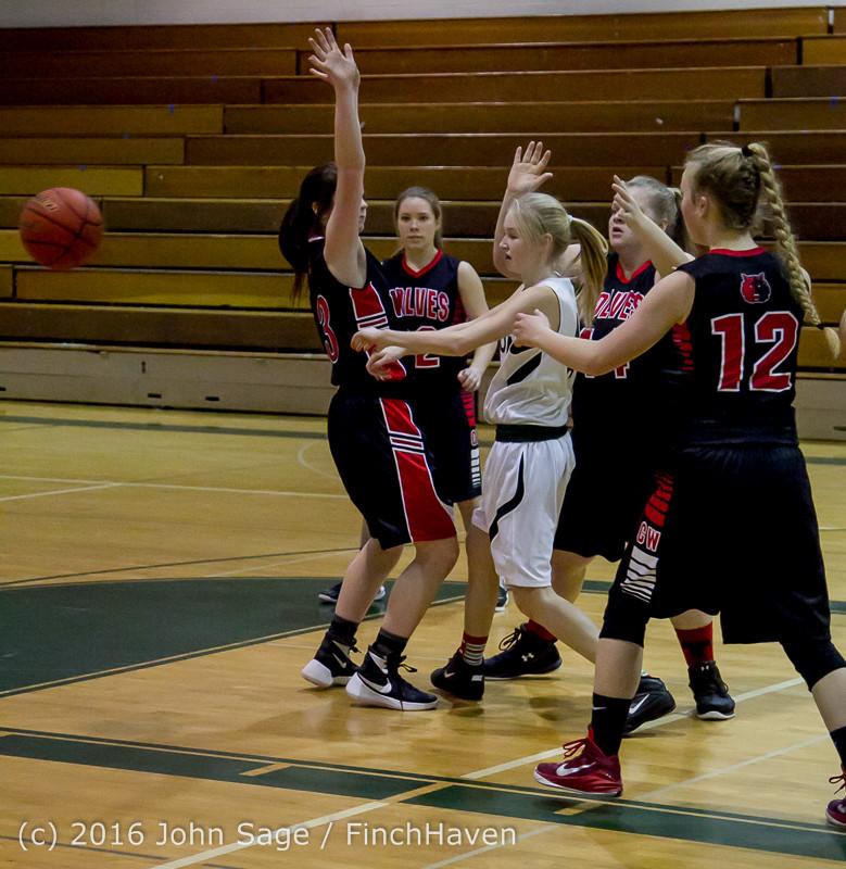 5152 Girls JV Basketball v Coupeville 122215
