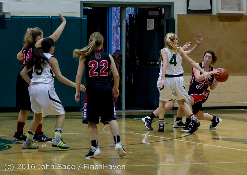 5160 Girls JV Basketball v Coupeville 122215