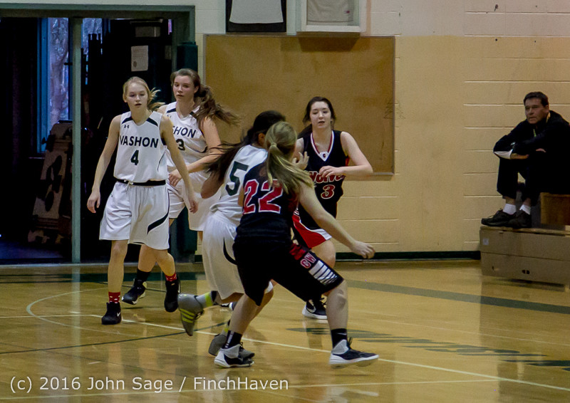 5164 Girls JV Basketball v Coupeville 122215