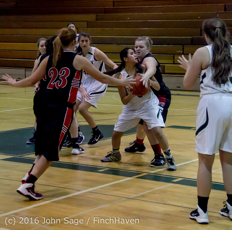 5202 Girls JV Basketball v Coupeville 122215