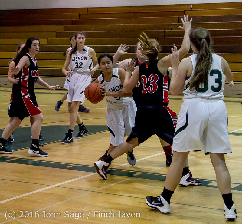 5206 Girls JV Basketball v Coupeville 122215