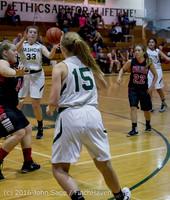 5225 Girls JV Basketball v Coupeville 122215