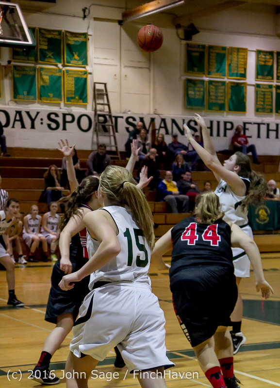 5230 Girls JV Basketball v Coupeville 122215