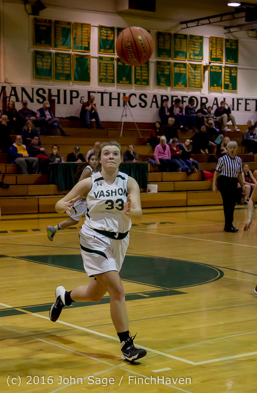 5241 Girls JV Basketball v Coupeville 122215