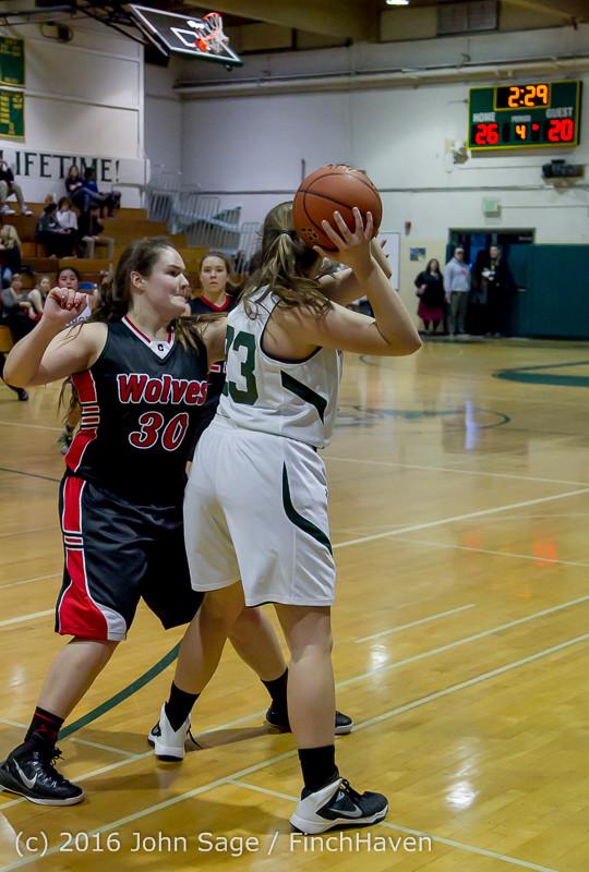 5250 Girls JV Basketball v Coupeville 122215