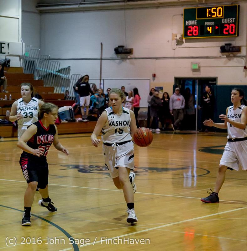 5260 Girls JV Basketball v Coupeville 122215