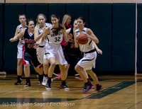 5330 Girls JV Basketball v Coupeville 122215