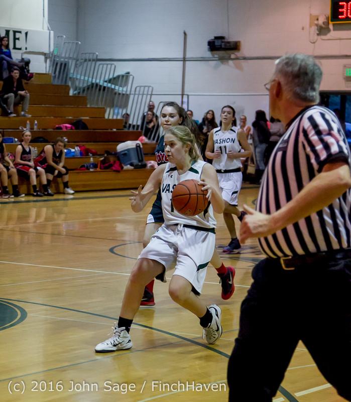 5350 Girls JV Basketball v Coupeville 122215