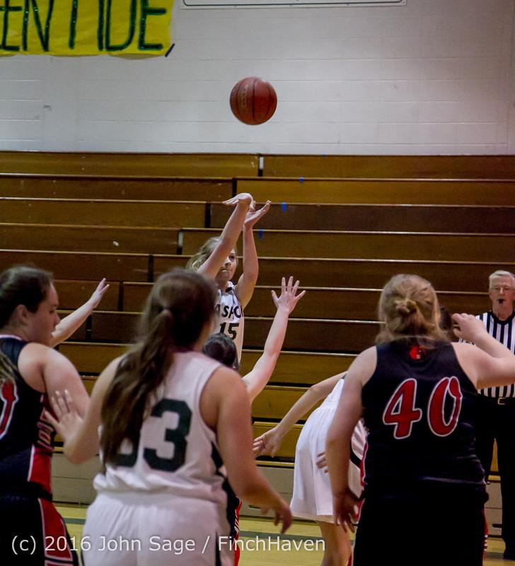 5372 Girls JV Basketball v Coupeville 122215