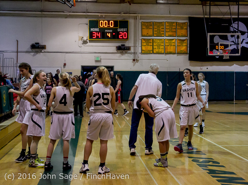 5407 Girls JV Basketball v Coupeville 122215