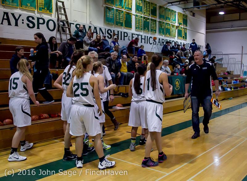 5441 Girls JV Basketball v Coupeville 122215