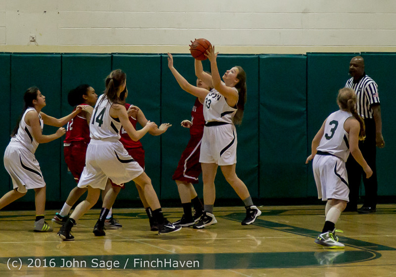 1501 Girls JV Basketball v Mountlake-Terrace 120215