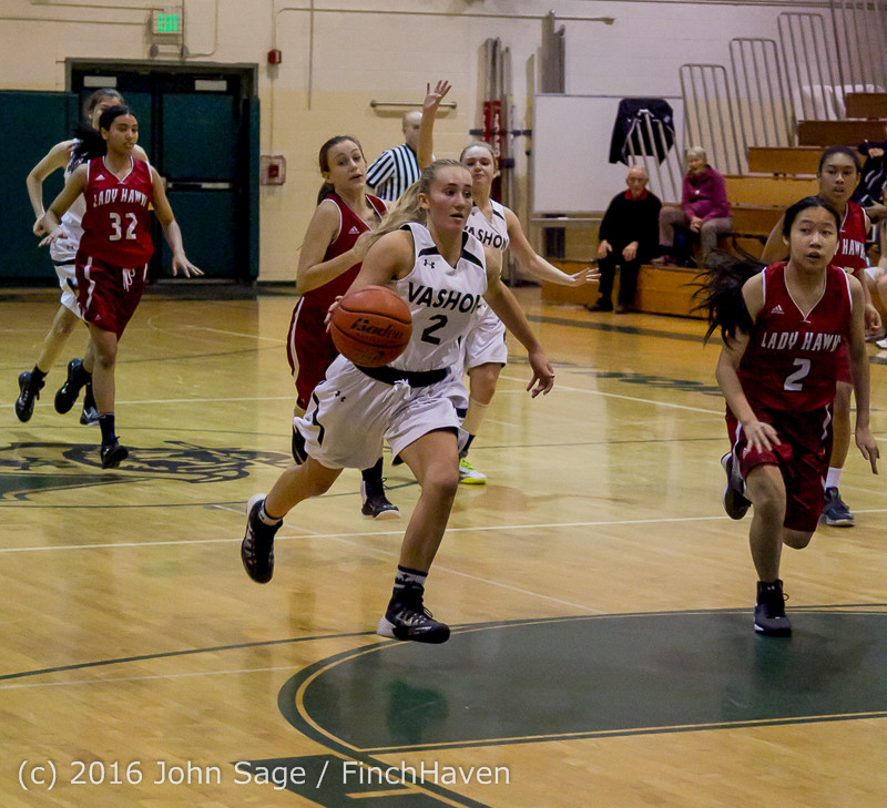 1951 Girls JV Basketball v Mountlake-Terrace 120215