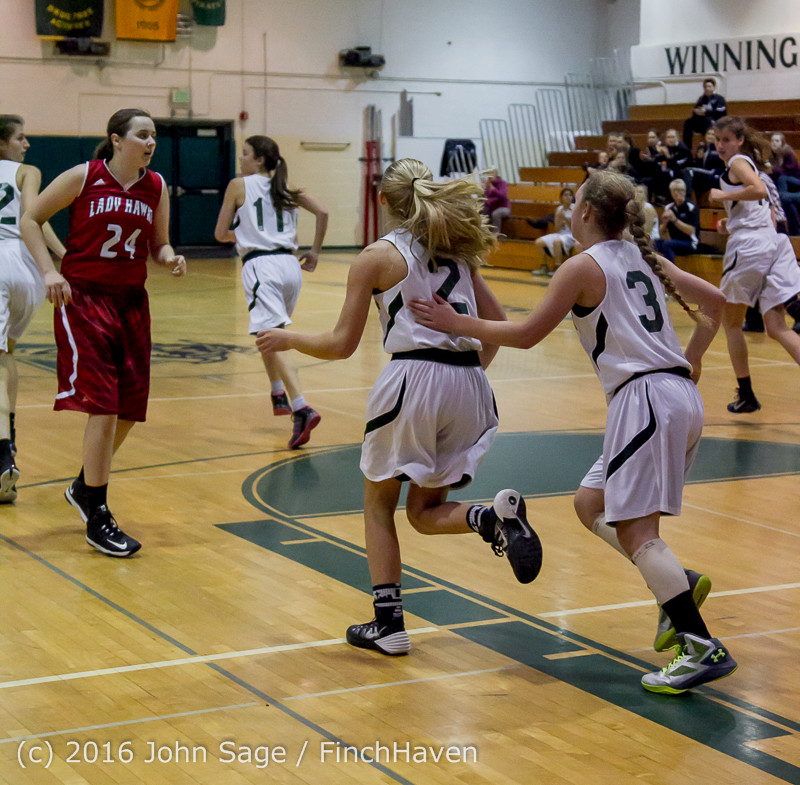 1978 Girls JV Basketball v Mountlake-Terrace 120215