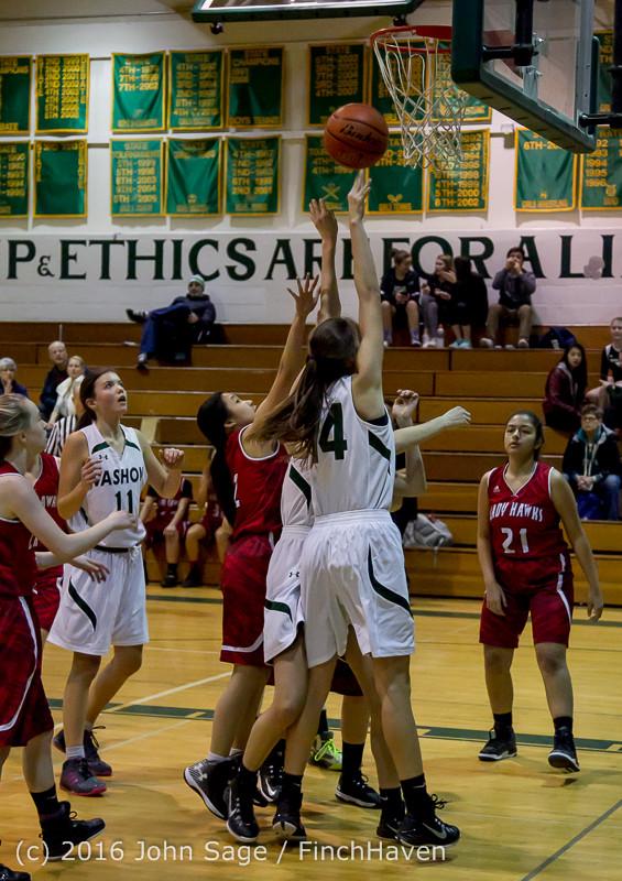 2122 Girls JV Basketball v Mountlake-Terrace 120215