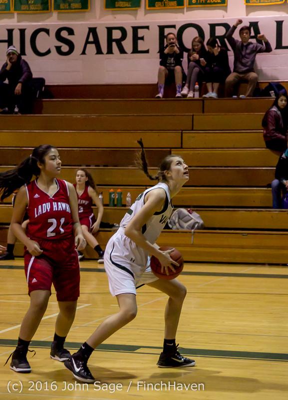 2160 Girls JV Basketball v Mountlake-Terrace 120215